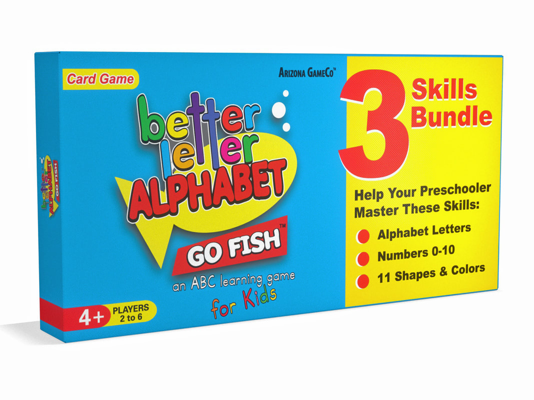 Better Letter Alphabet Go Fish